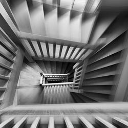 Oude trappenhuis.