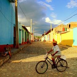 Zomaar een straat in Cuba