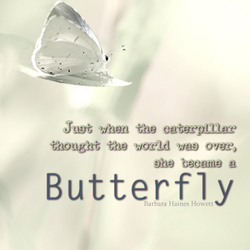 She became a Butterfly