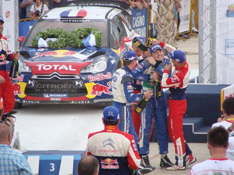 Gods of Rally - Winners! - Onze vakantie zodanig gepland dat we weer een WRC Rally konden zien. Dit jaar, Acropolis Rally of Gods in Griekenland!<br /