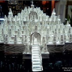 Borobudur in zilver