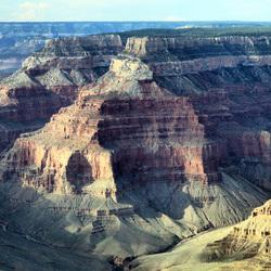 Birdsview over Grand Canyon