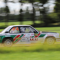 Opel Ascona in vechtdalrally