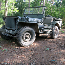 Willy JeeP WO2 kleur