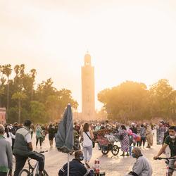 Marrakech post-lockdown