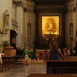 Sicilië - Meisje in de Kathedraal