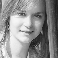 Zwart wit portret