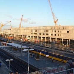 Station Breda in de ochtendzon
