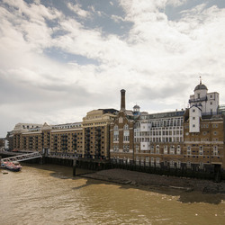 London - Docklands - Butter's Wharf Building