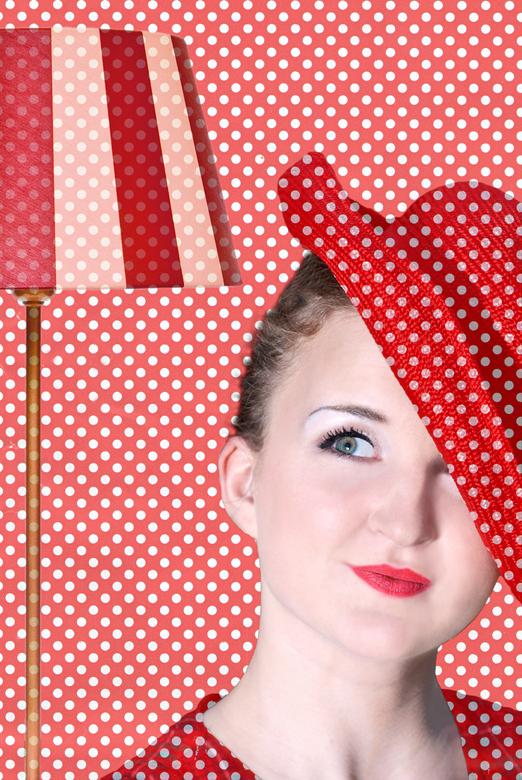Old fashioned way - Fotografie, visagie eigen werk<br /> Model, Eline