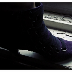Purple Shoe