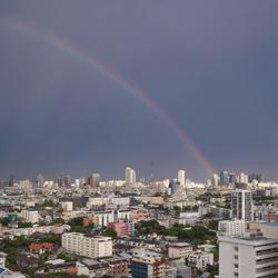 regenboog in BKK