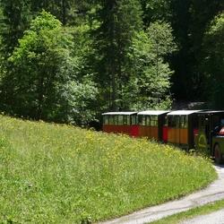 P1390656 Wildschonau nr14 Bummel Bahn  bij Kundle Klamm 10 juni 2016