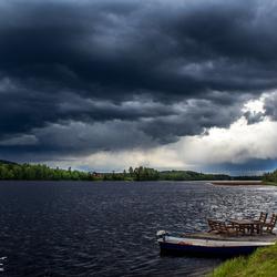 Onweer in Zweden