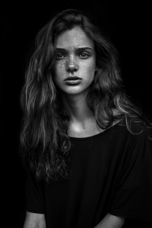 Portrait of Sara - Photography: Agata Serge<br /> Model: Sara