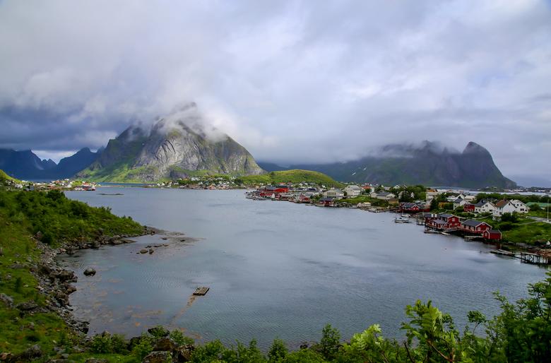 Lofoten in Noorwegen -