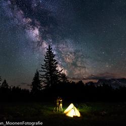 Een nachtje samen onder de sterren