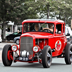 Ford Model A Hot Rod 1931 (9757)