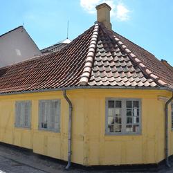 Odense: geboortehuis van Hans Christian Andersen