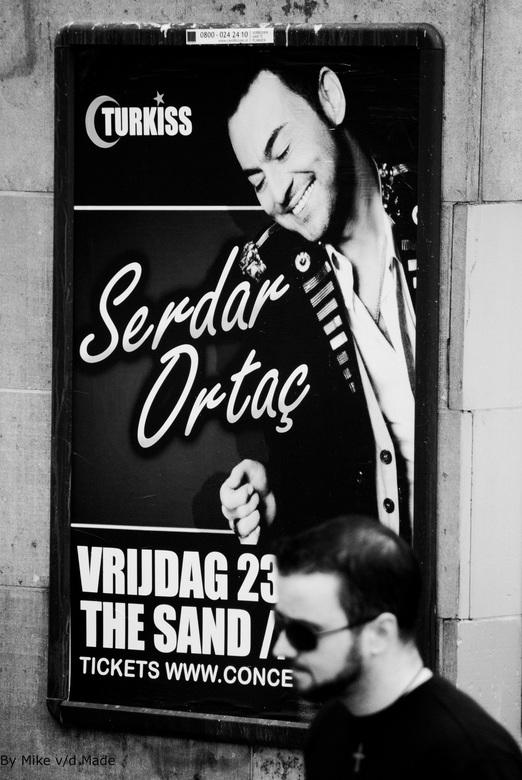 Serdar - Foto genomen op de prinsengracht te Amsterdam.