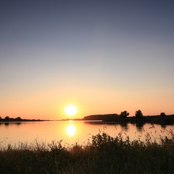 Zonsondergang Lauwersmeer
