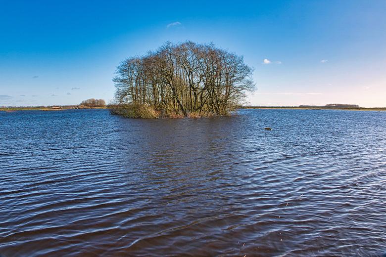 Wateropslag - In Tusschenwater kunnen we een grote hoeveelheid water bergen. Door de herinrichting van het gebied is er ruimte voor 1,3 miljoen kuub w