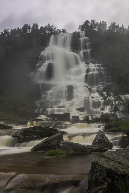 Tvindefossen, Noorwegen -