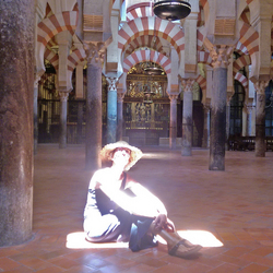 Zonnestraal in de Mezquita