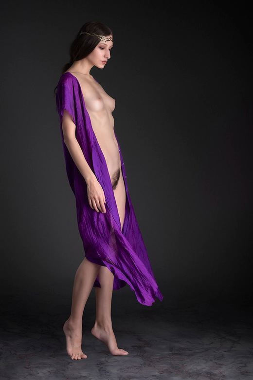 Purple - ArtDecoModel (Kate)
