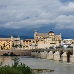 oude romeinse brug in Córdoba