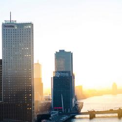 Rotterdam in januari