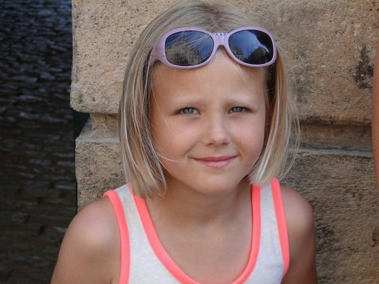 DSC01121 - Mijn dochter Iris, op vakantie in Frankrijk
