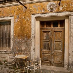 Doors on Rhodos 7 ghost house