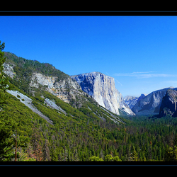 Tunnel view Yosemite N.P