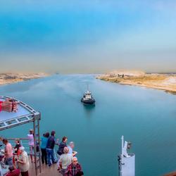 Het Suez kanaal