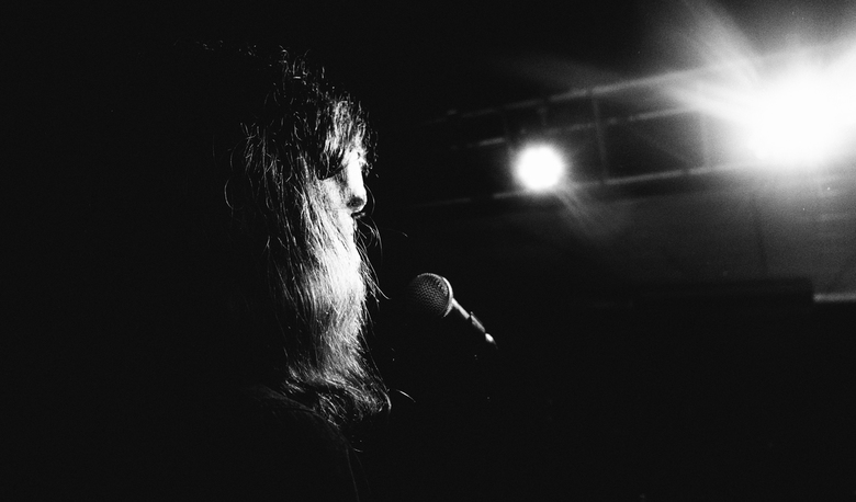 on stage with... - frontman, Soviet Grass