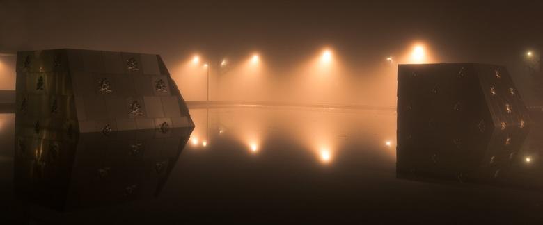 Out of the Fog and the Future - Gefotografeerd bij het belastingkantoor Apeldoorn.