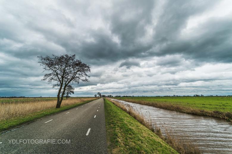 Dreigende wolken  -