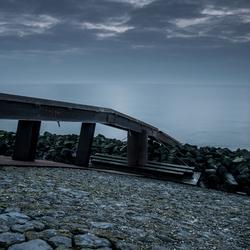 Sunset Afsluitdijk