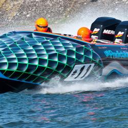 Waterski race