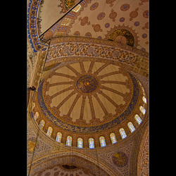 Plafond Blauwe Moskee