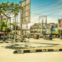 De straten van Medan