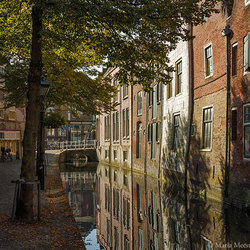 Het straatje Kooltuin in Alkmaar