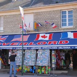 Souveniershop in Normandië