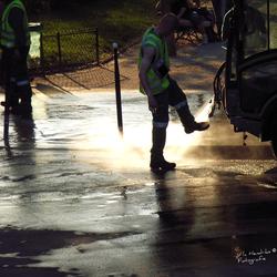 Nettoyeurs de rue paris