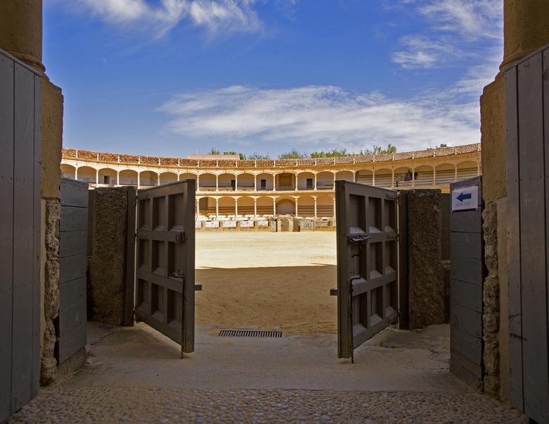 Spanje 36 - Geen toerist te zien.