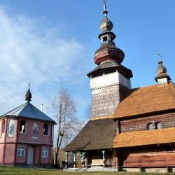 Oekraine Svaliava St. Michael's Church.