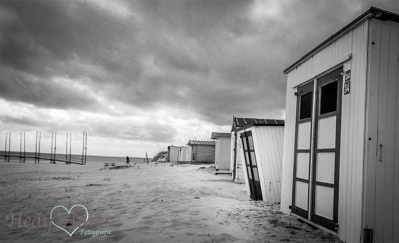 Strandhuisjes - Strandhuisjes op Oost, Texel