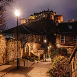 The Vennel - Edinburgh Castle