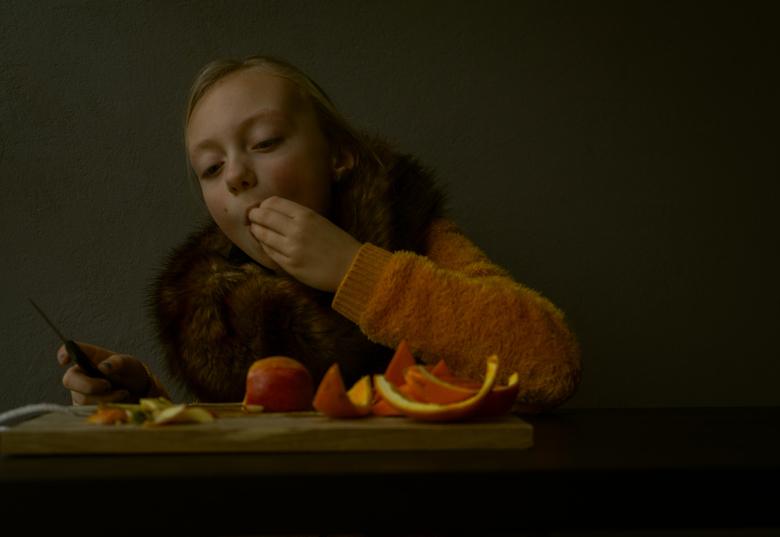 Vera in Rembrandtstijl -